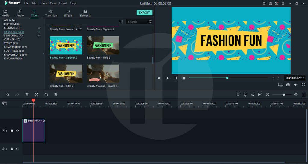 Download Wondershare Filmora Effects Pack V 9 1 4 12 Video Editing Apps Time Lapse Video Custom Fonts