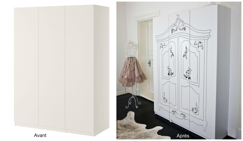 Comment Customiser Une Armoire comment sublimer son mobilier ikea | projets de bricolage et