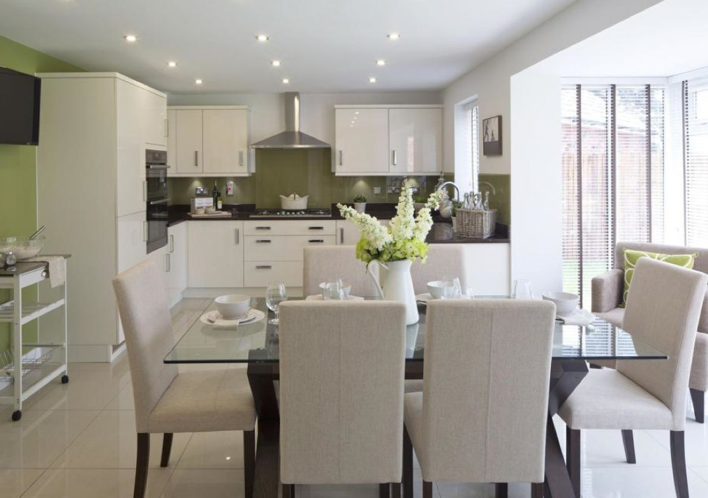David Wilson Homes The Larches Offenham Interior Designed Kitchen Dining Room My House Pinterest Design And