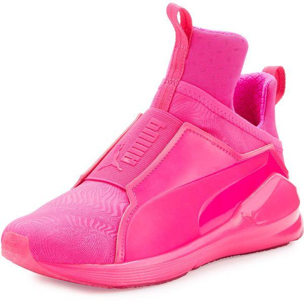 58cef2d6 Puma Fierce Embossed High-Top Sneaker ($100) ❤ liked on ...