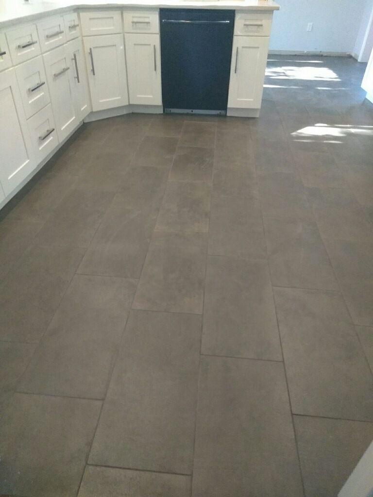 black tiles stone flooring