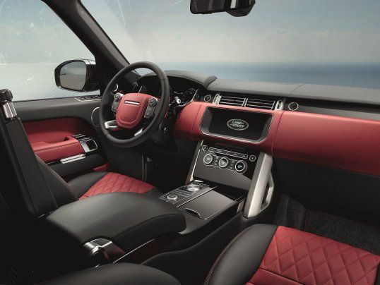 Here S The Ultra Luxe Suv Range Rover Has Been Saving For A Special Occasion Suv Range Rover Range Rover Sv Range Rover Interior