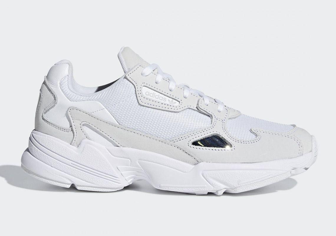 new styles b0e20 71311 adidas Falcon Triple White B28128 Release Info thatdope sneakers luxury  dope fashion trending
