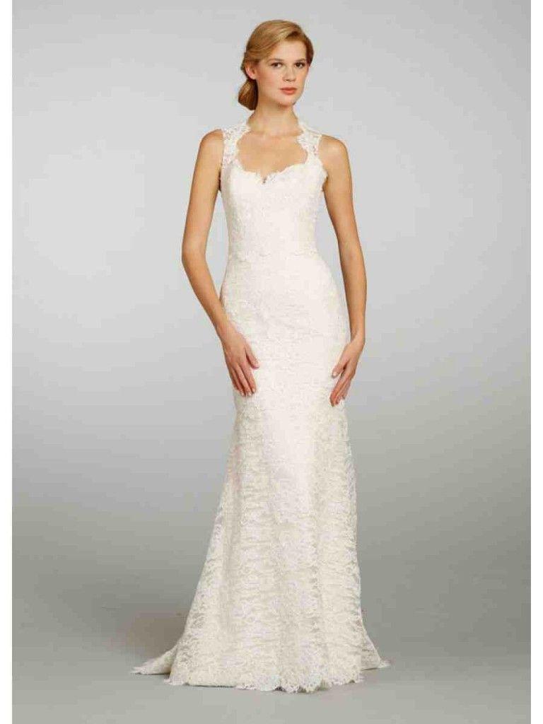 Cheap Simple wedding dresses under 100 photo