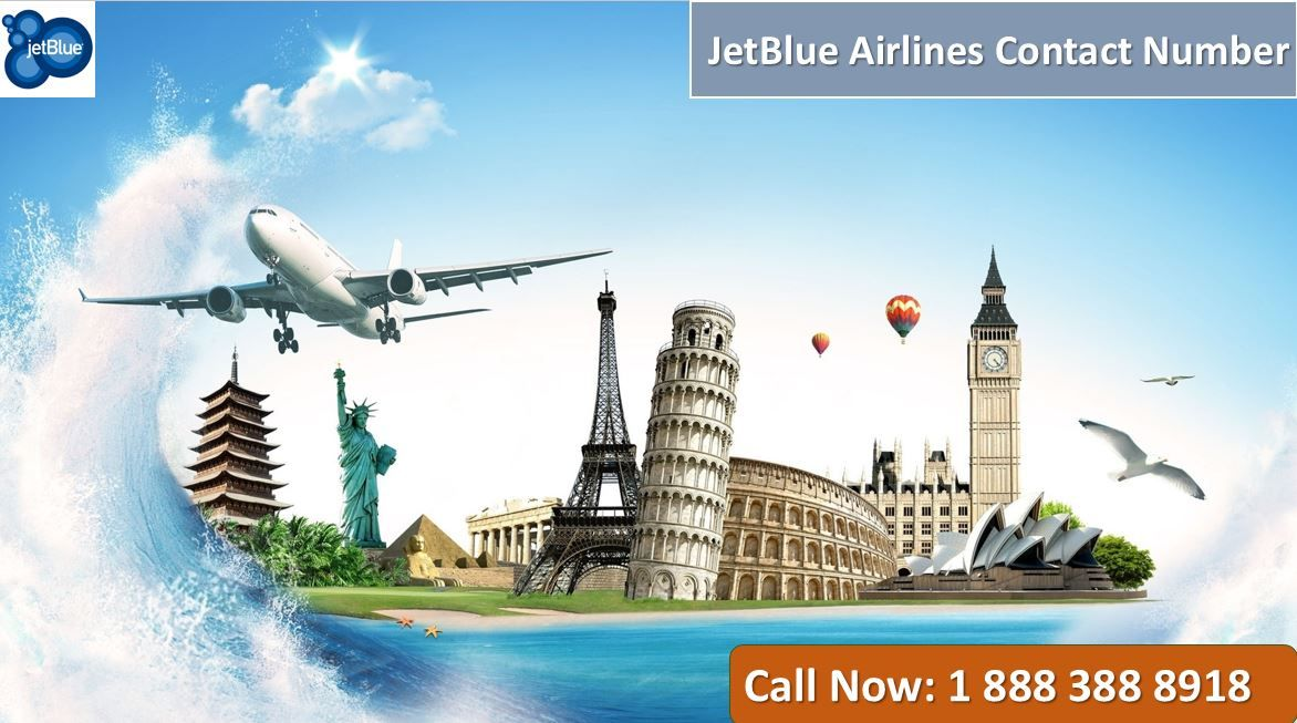JetBlue Airlines Contact Number +1 888 388 8918 Travel