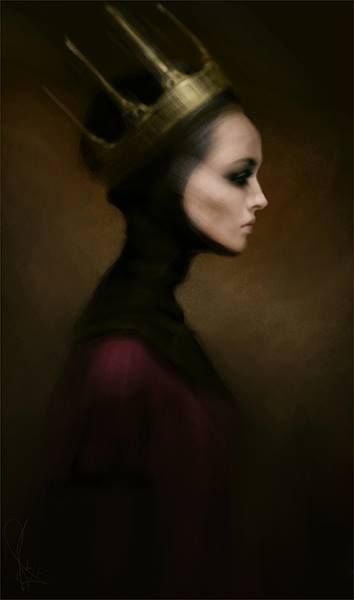 "★ beautifulbizarremag: Sketch ""Drama queen"" by Mélanie Delon ★"