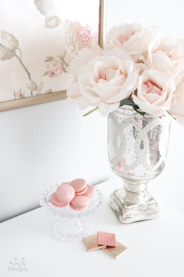 Blush And Gold Glam Office Reveal Blush And Gold Glam Office Reveal