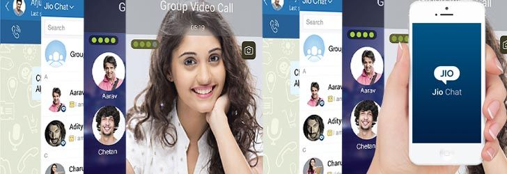 Reliance Jio Apps Jio chat free messaging and calling