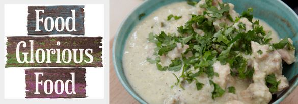 Fragrant white chicken korma the dining table pinterest foods fragrant white chicken korma forumfinder Images