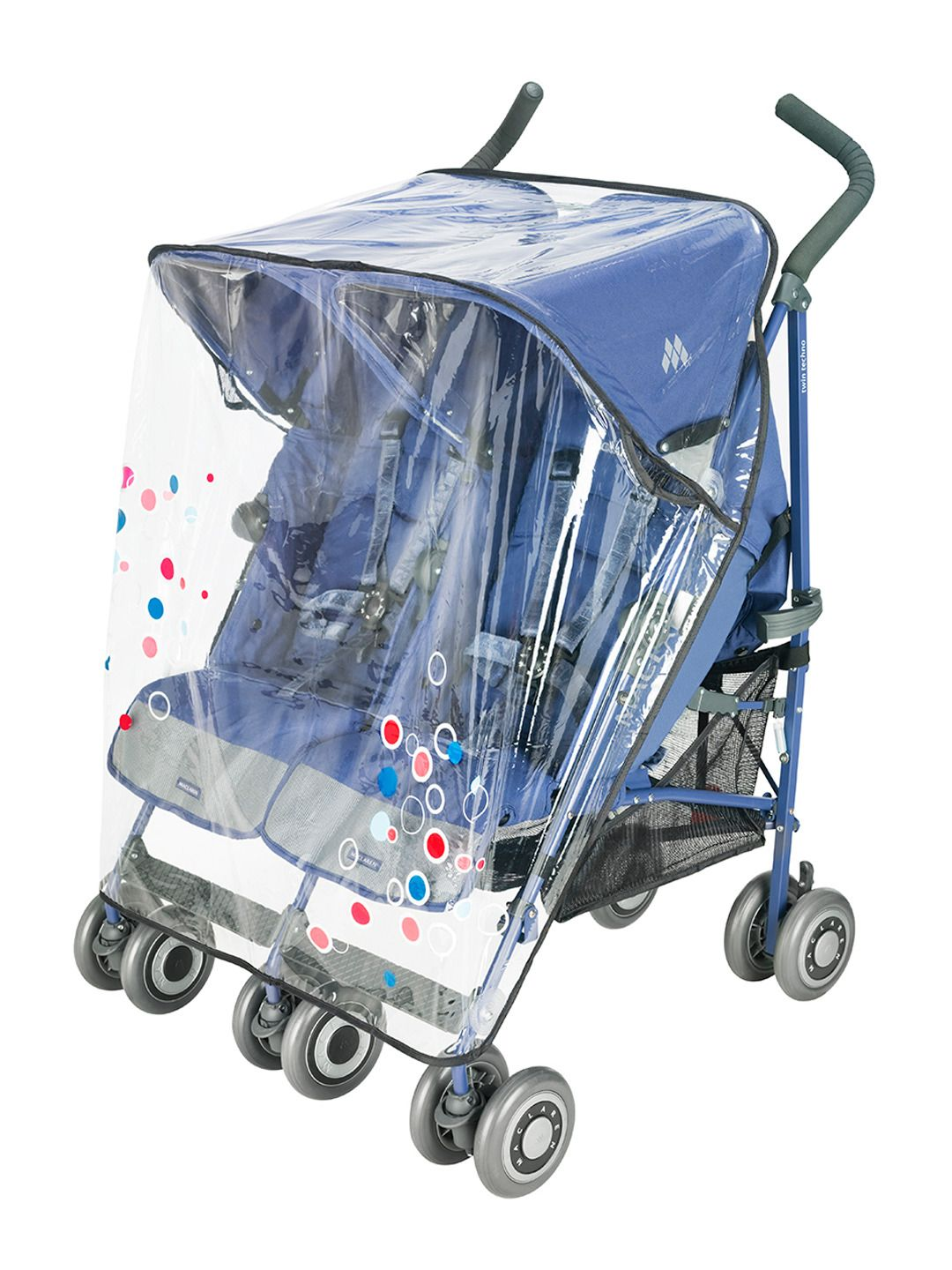Twin Printed Raincover StrollerKids New baby products