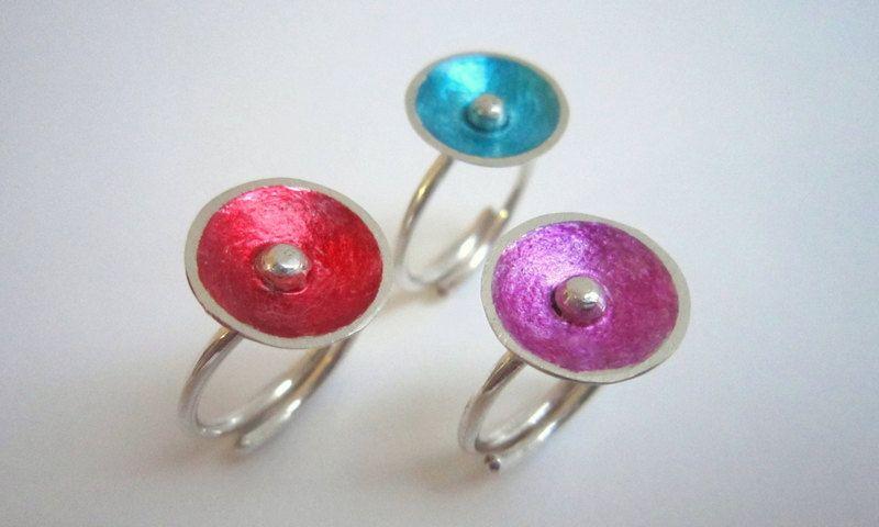 handmade sterling silver ring by KORMENTZACREATIONS on Etsy
