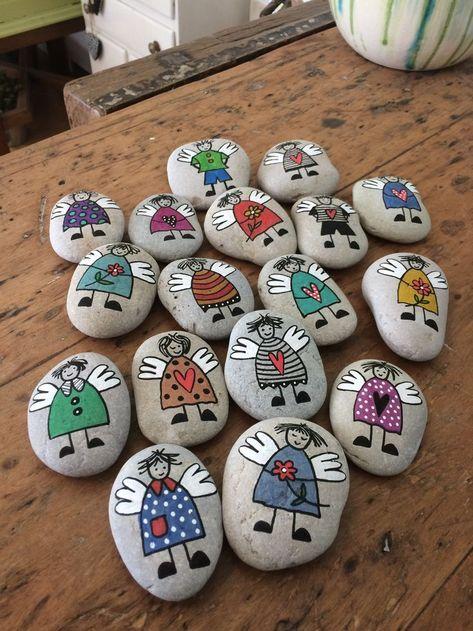 Steine malen