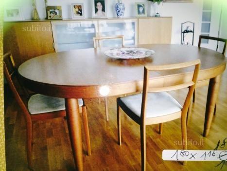 via SUBITO EURO 500 Tavolo da pranzo ovale - Arredamento e ...