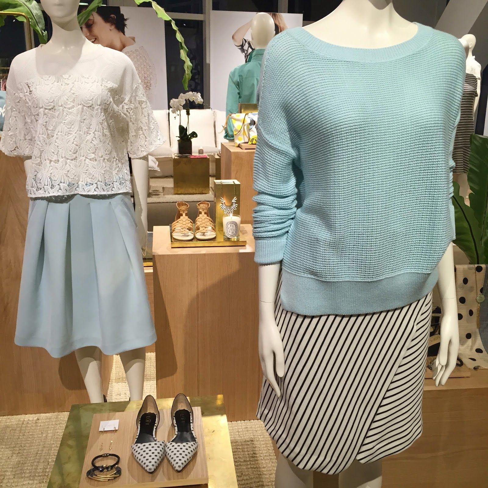 Nyc Recessionista First Look Loft Lou Grey Spring 2015 Spring 2015 Fashion Lou Grey Fashion