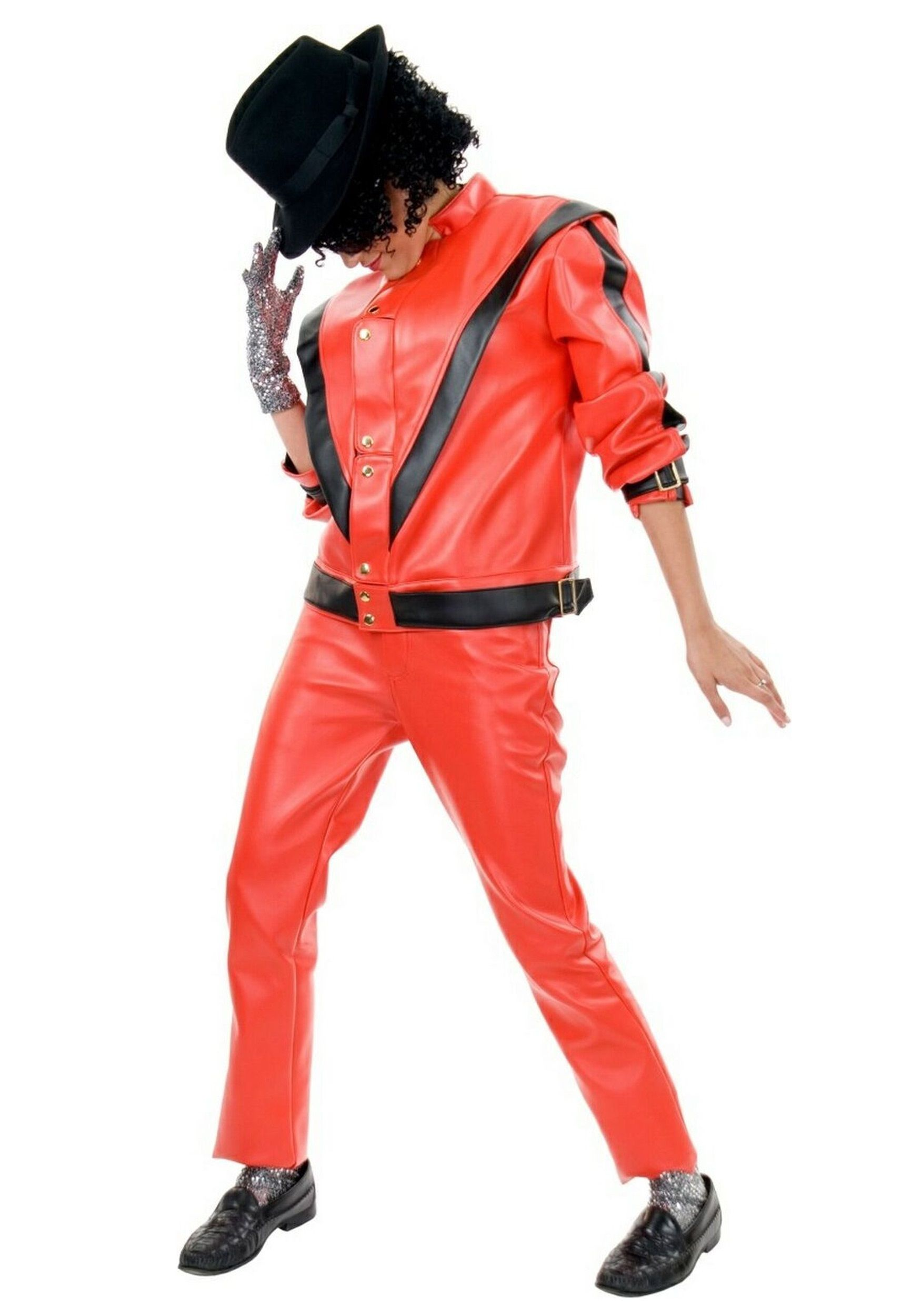 adult michael jackson thriller jacket - 80s Dancer Halloween Costume