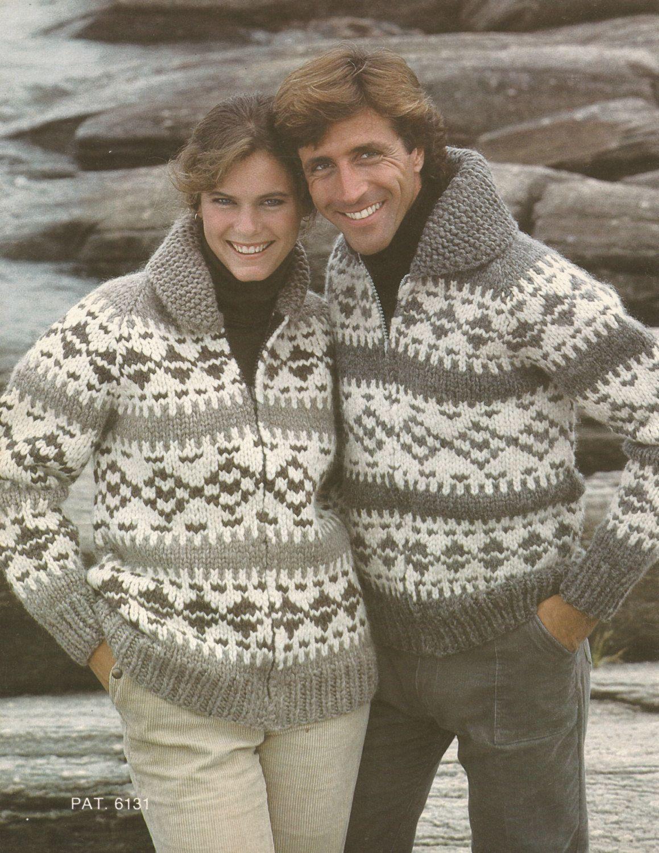 White Buffalo Pattern 6131 Cowichan Salish sweater Knit cardigan ...