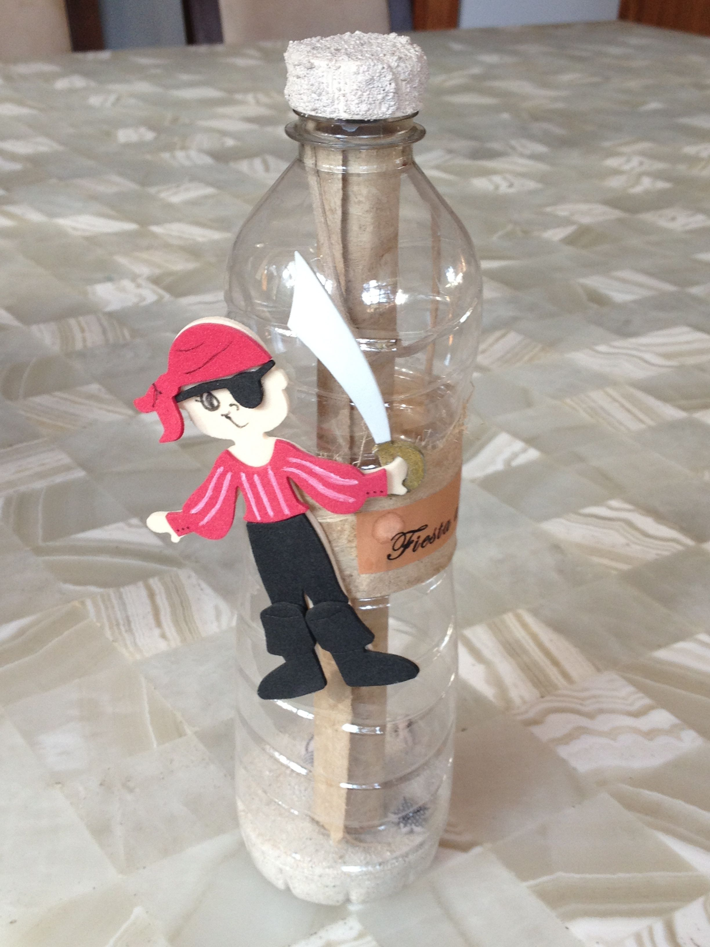 Message in a bottle to open when he is 18 at his graduation ...
