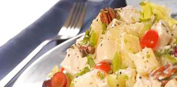 Almond Grape Chicken Salad