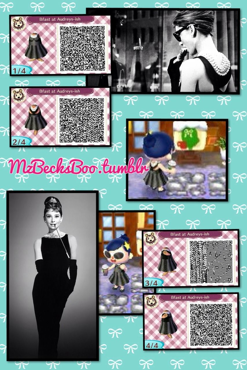 Black dress qr code - Find This Pin And More On Animal Crossing New Leaf Qr Code Clothes