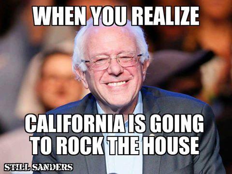 Cali Feels The Bern Bernie Sanders Bernie Sanders For President Bernie