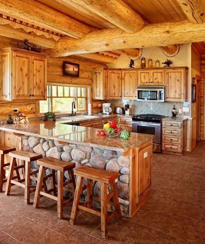 Caba as de madera decoraciones para el hogar for Decoraciones rusticas para el hogar