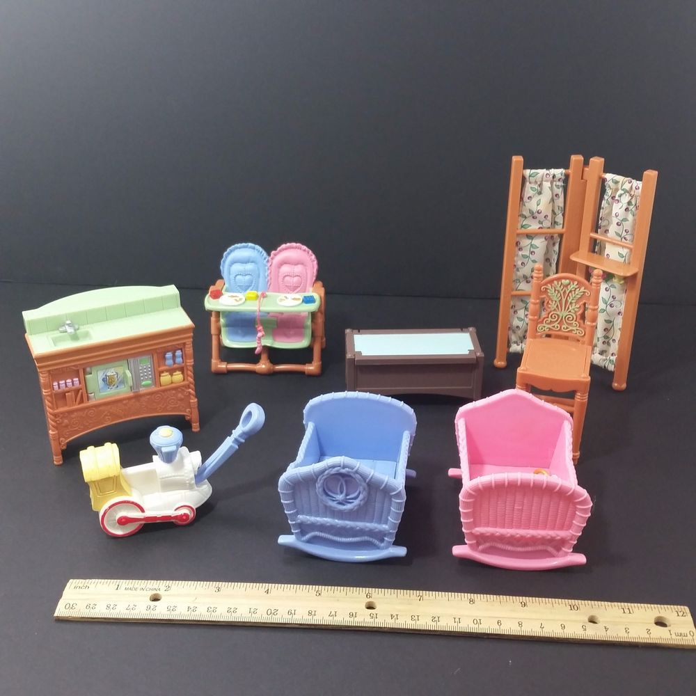 Fisher Price Loving Family Twin Time Dollhouse Furniture ...