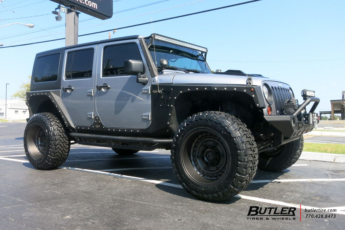 Black Rhino Armory Wheels Jeep Jk