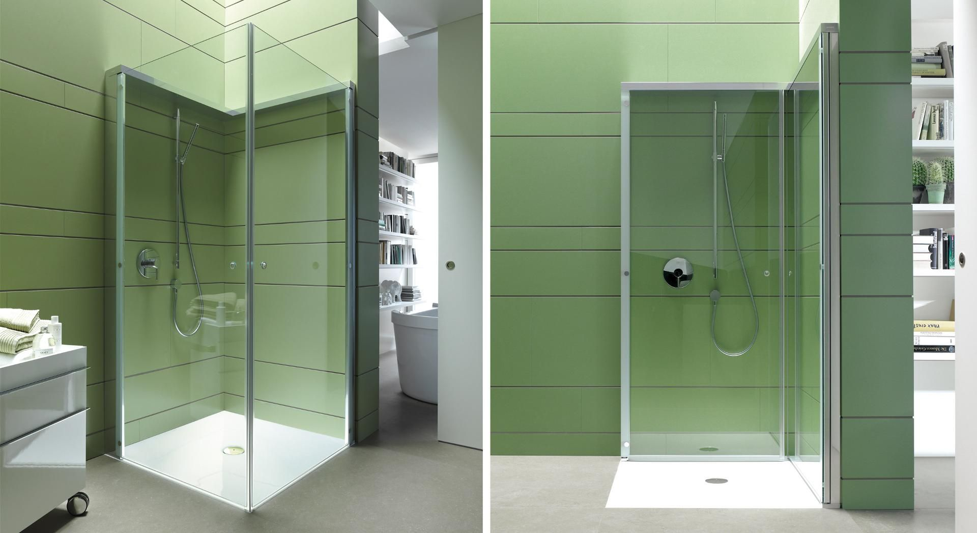Duravit Openspace Glass Shower Enclosures By Eoos