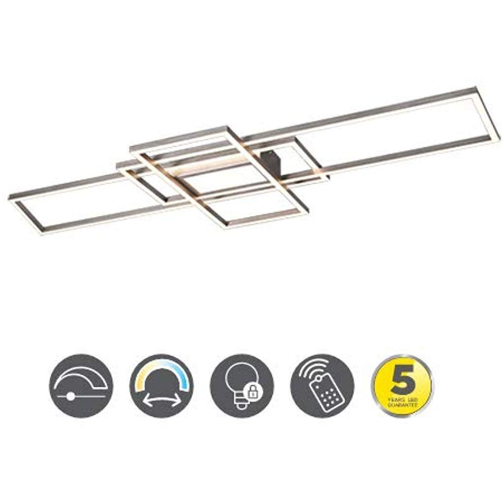 LED Decken Leuchte Flur Licht Schiene Glas Strahler schwenkbar Energie Spar
