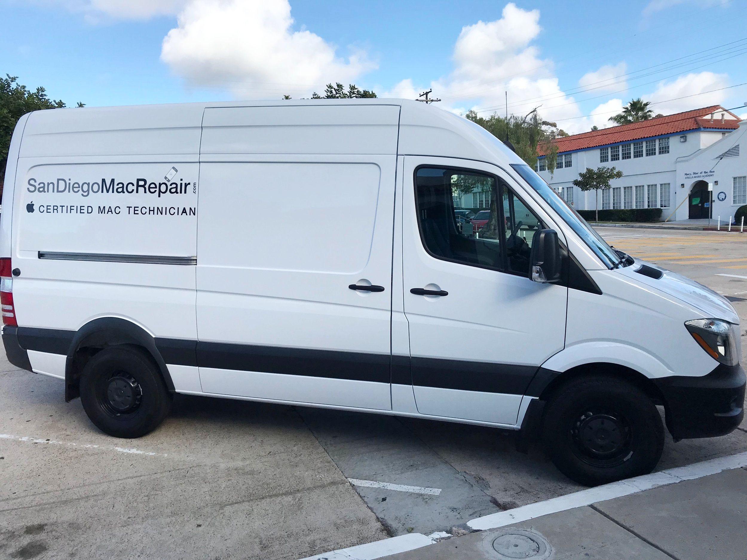 San Diego Mac Repair Is Now Mobile Look For Us Around La Jolla San Diego Mac Repair La Jolla La Jolla San Diego Wifi Mesh