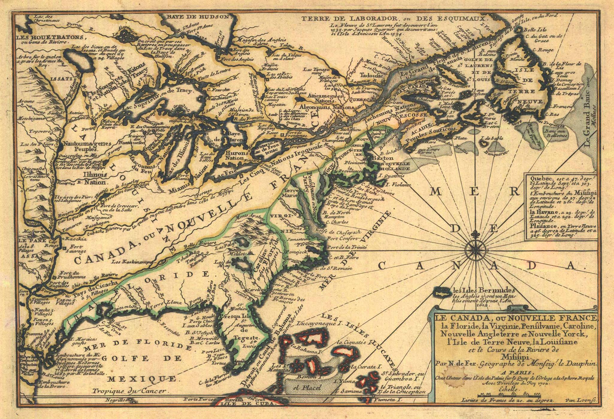 Résultats De Recherche Dimages Pour  Illinois Newfrance - Map of north america 1700