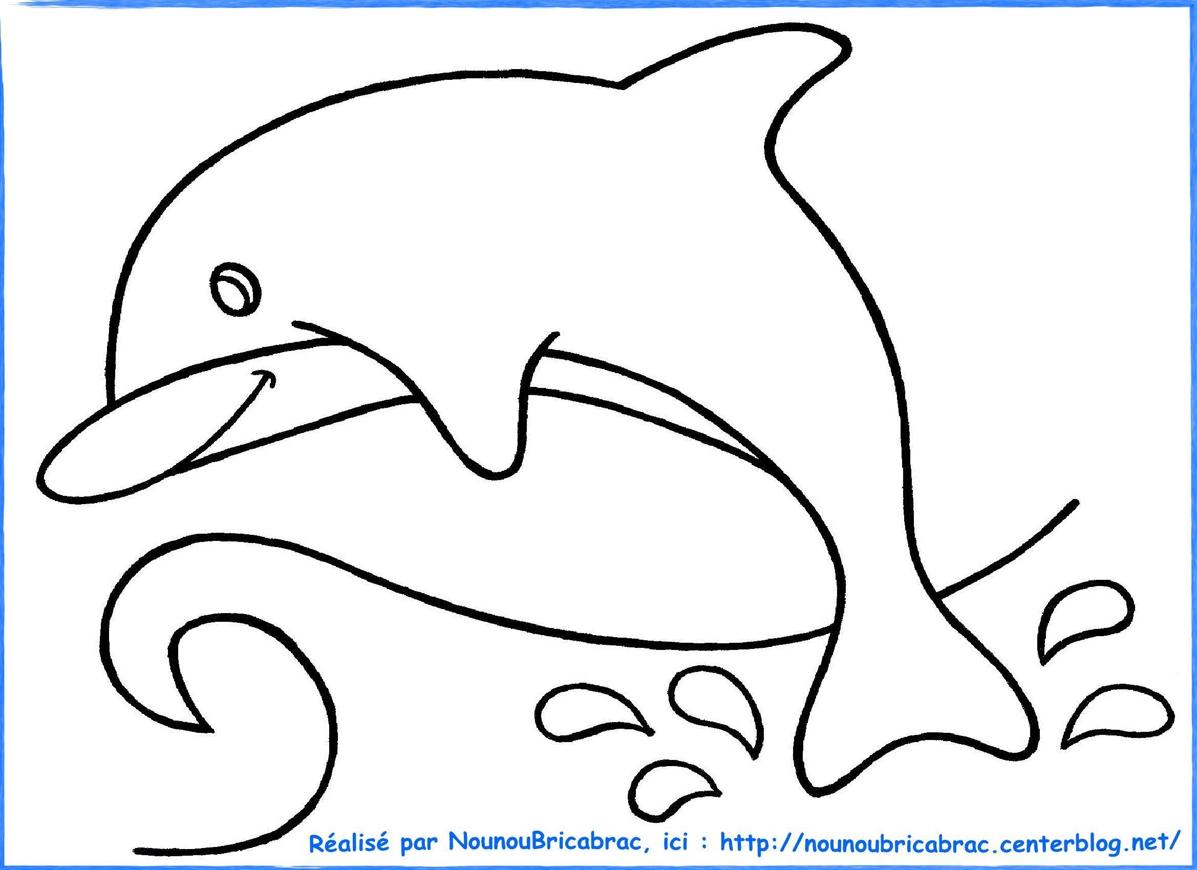 Modele Coloriage Dauphin.Coloriages Animaux Dessins Croquis Sketches Et Design