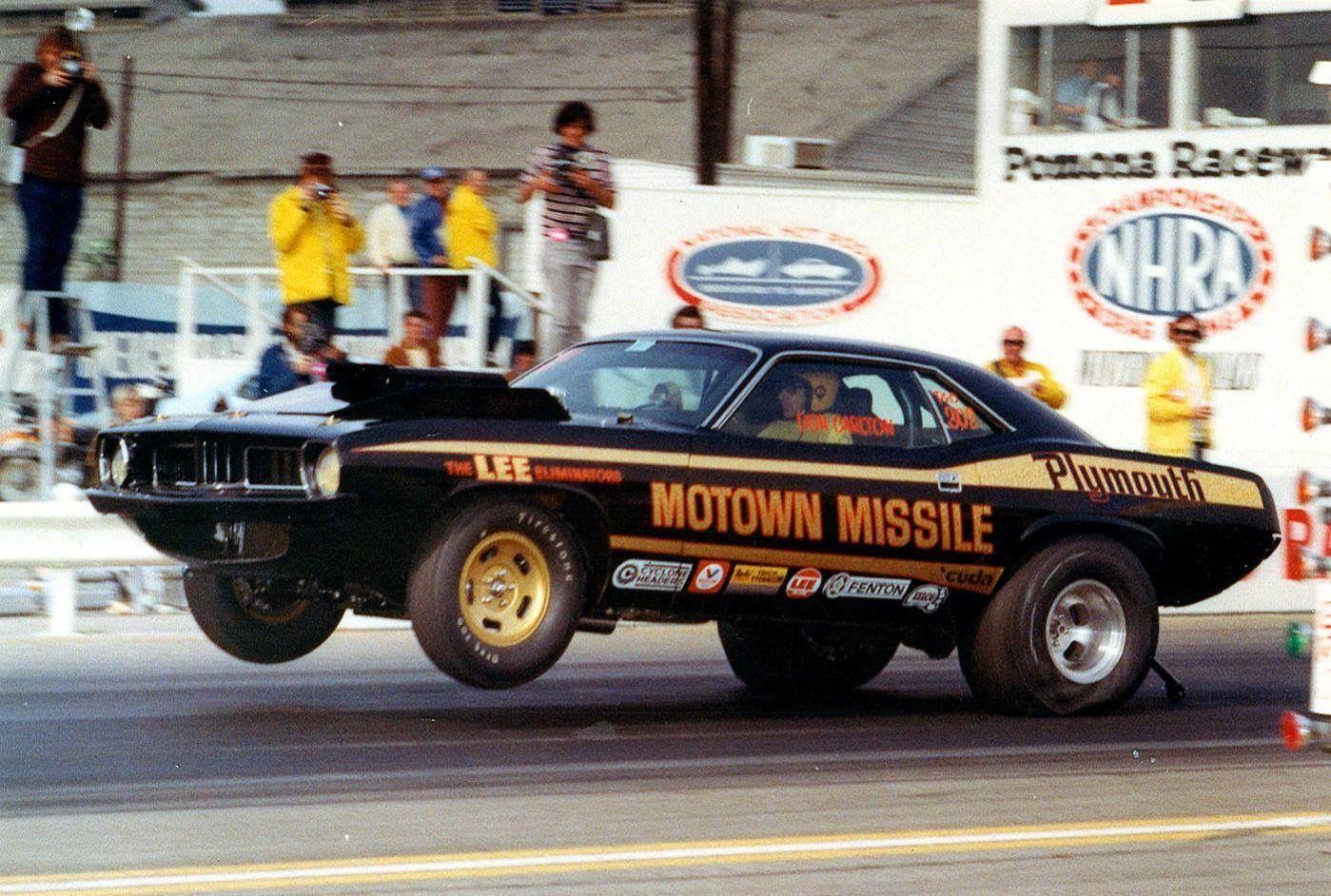Vintage Drag Racing Pro Stock Motown Missile Drag Racing Nhra Drag Racing Drag Racing Cars