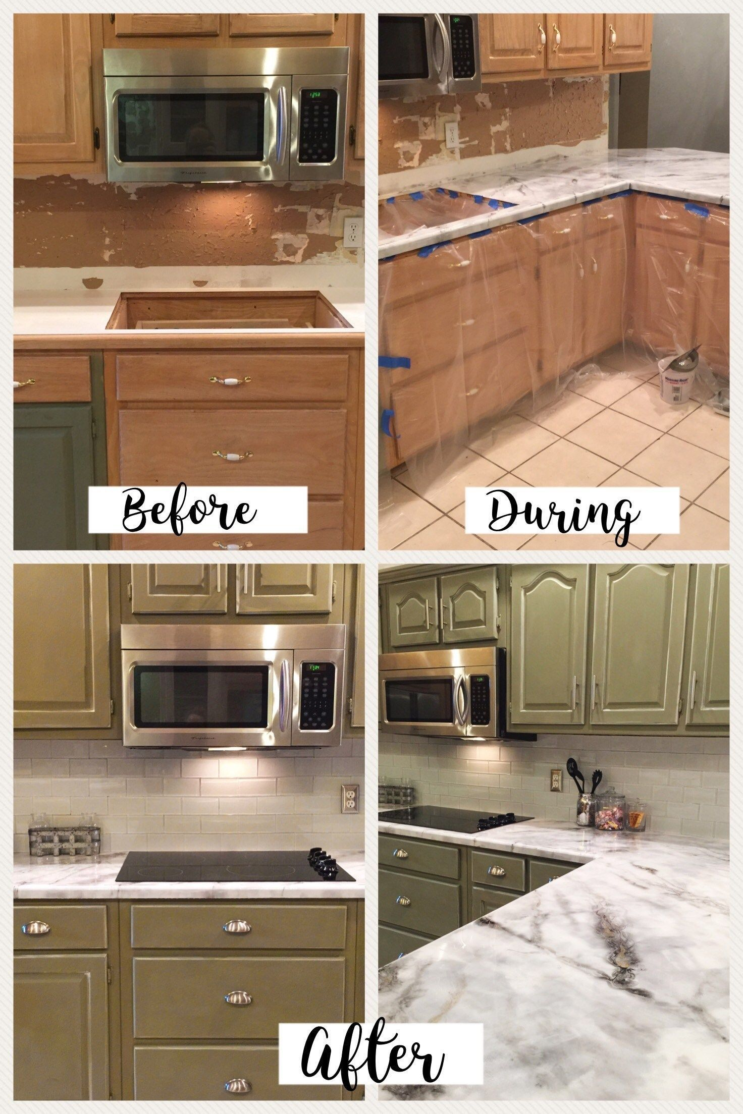 How To Resurface Kitchen Countertops I Love Working With Epoxy This Is A Guide On Diy Kitchen Countertops Kitchen Countertops Painting Kitchen Countertops