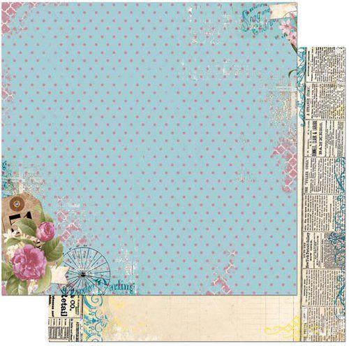 Bobunny C Est La Vie Collection 12 X 12 Double Sided Paper