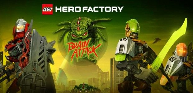 LEGO Hero Factory: Brain Attack Competition   Electronic Theatre ...
