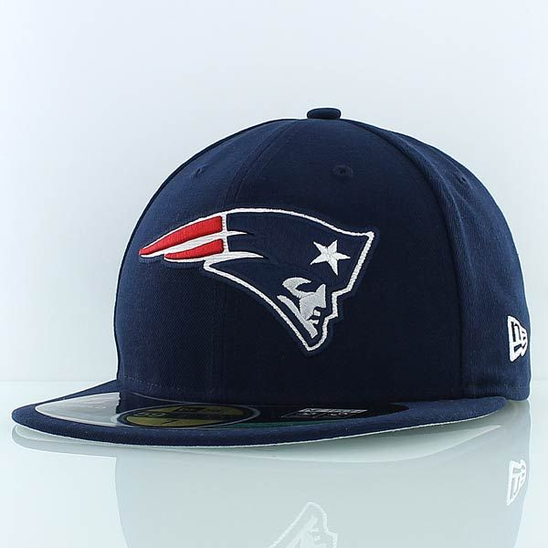 new era NFL ON FIELD 5950 NEW ENGLAND PATRIOTS navy  d944b82b67f