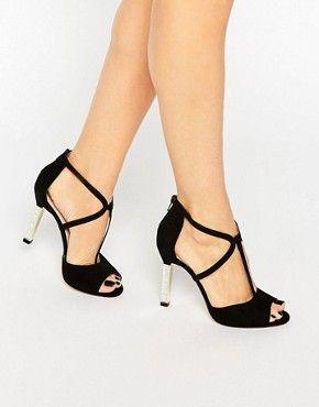 Zapatos turquesas de punta abierta formales PrimaDonna para mujer GavYHnnN