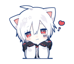 Mafumafu Sticker (cat) vol 2 – LINE stickers | LINE STORE