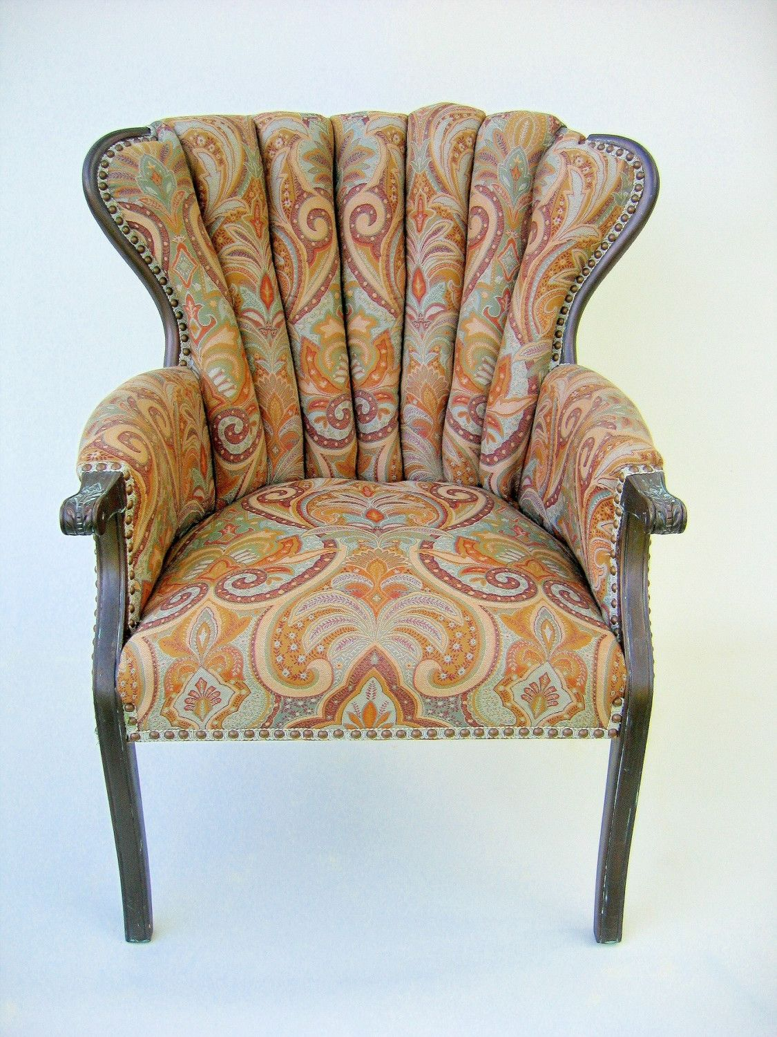 Channel Back Chairs Google Search Mid Century Wing