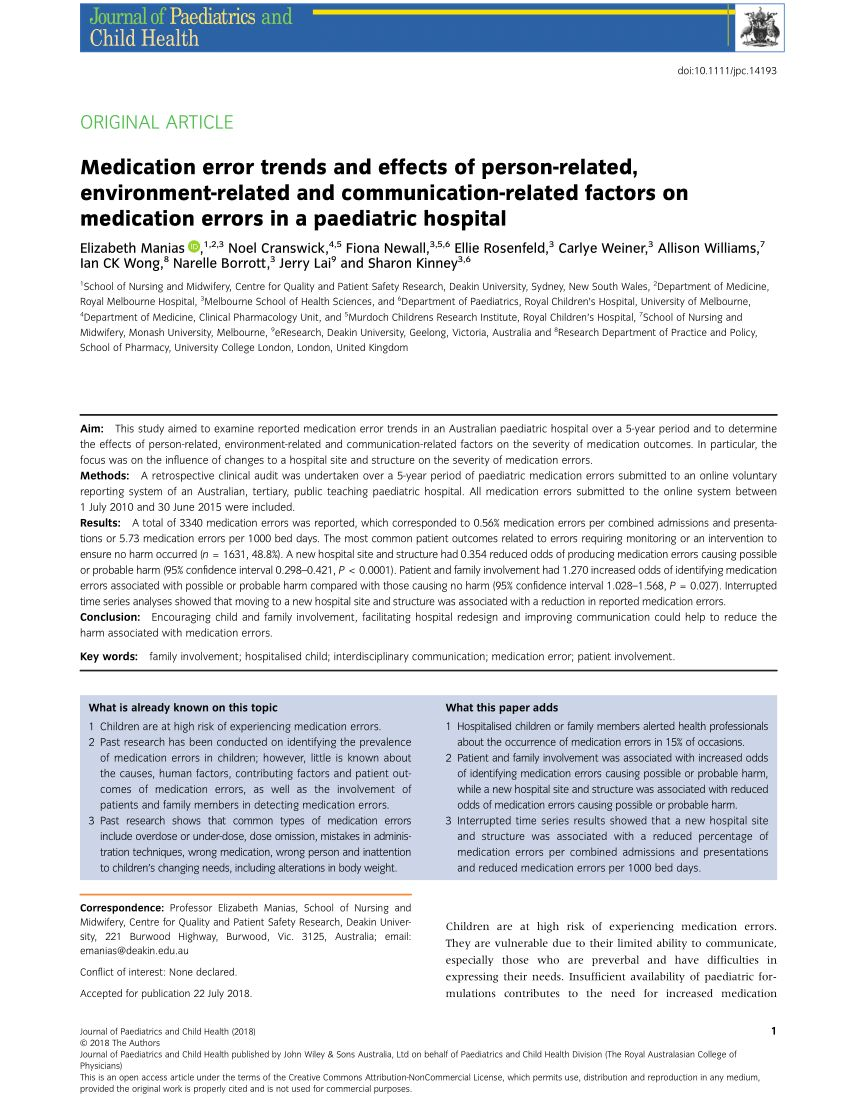 Example Of Medication Error Report Form In 2020 Incident Report