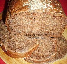 Τα ταξίδια μου : Ψωμί με Χαρουπάλευρο, Νόστιμο και Υγιεινό