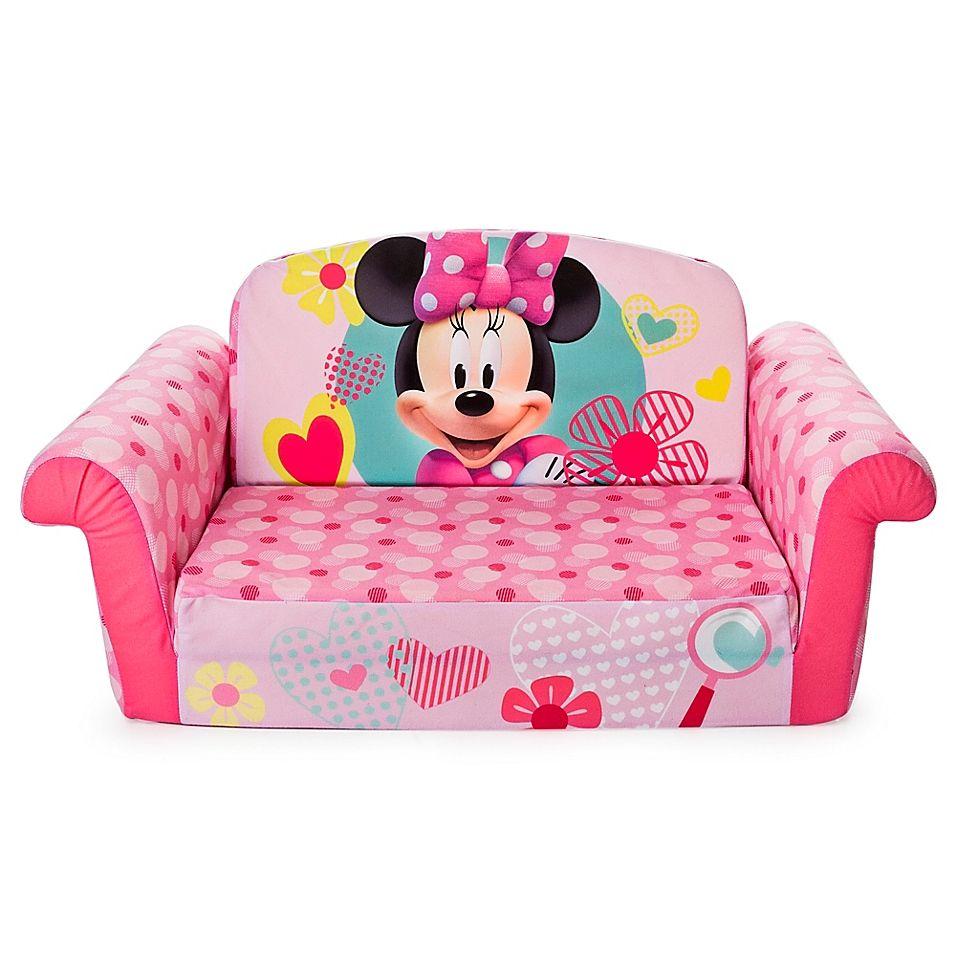 Best Marshmallow Disneyl Minnie Mouse Flip Open Sofa Multi 400 x 300