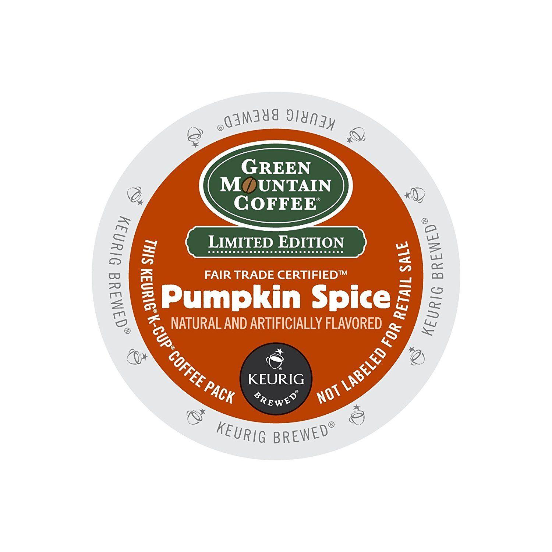 Green mountain coffee pumpkin spice kcups 96ct seasonal