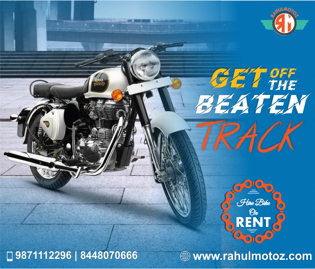 Rahulmotoz Give Bikes On Rent In Delhi Ncr At Low Price We Are