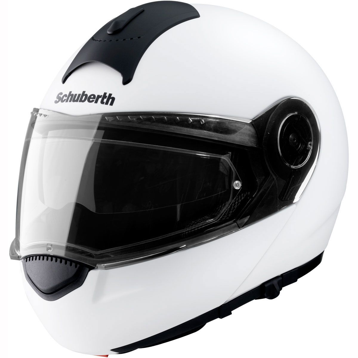 Schuberth C3 Helmet In White This Motorcycle Helmet Is One Of The Lightest Flip Front And The White Motorcycle Helmet Motorcycle Helmets Futuristic Helmet