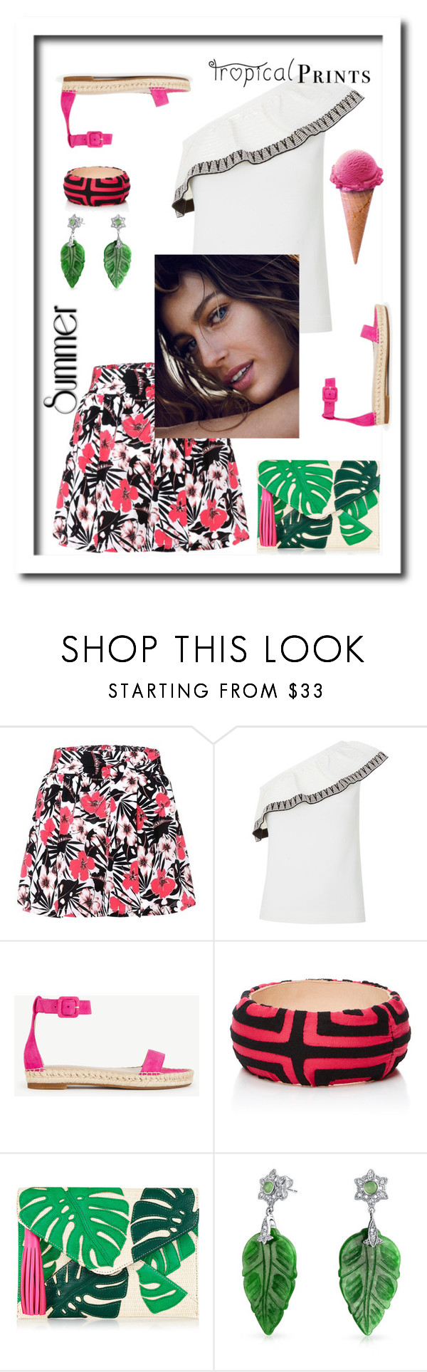 """""""Summer Shorts"""" by kikikoji ❤ liked on Polyvore featuring Etro, Maje, Ann Taylor, Mola SaSa and Bling Jewelry"""
