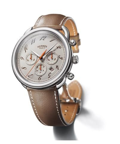 hermes arceau chrono watch jewelry accesories stay hermes arceau ebony chronograph watch love my new hermes watch very elegant and tasteful piece mine comes chocolate face but silvered hands and on