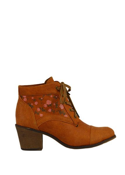 Tan Cowgirl Bootie