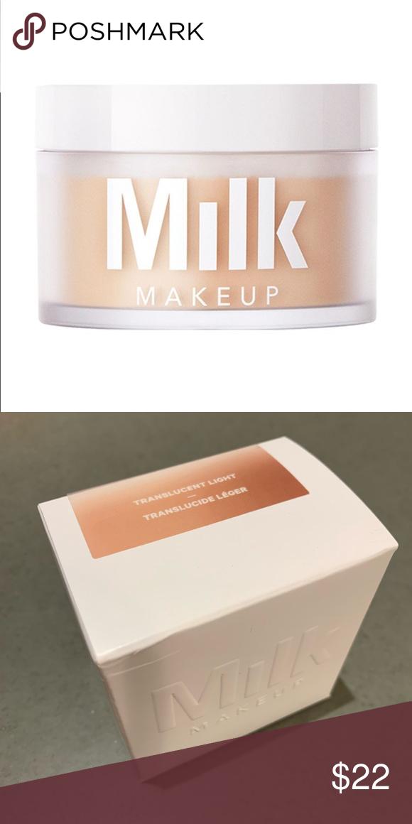 Milk Blur + Set Matte Loose Setting Powder NWT Setting